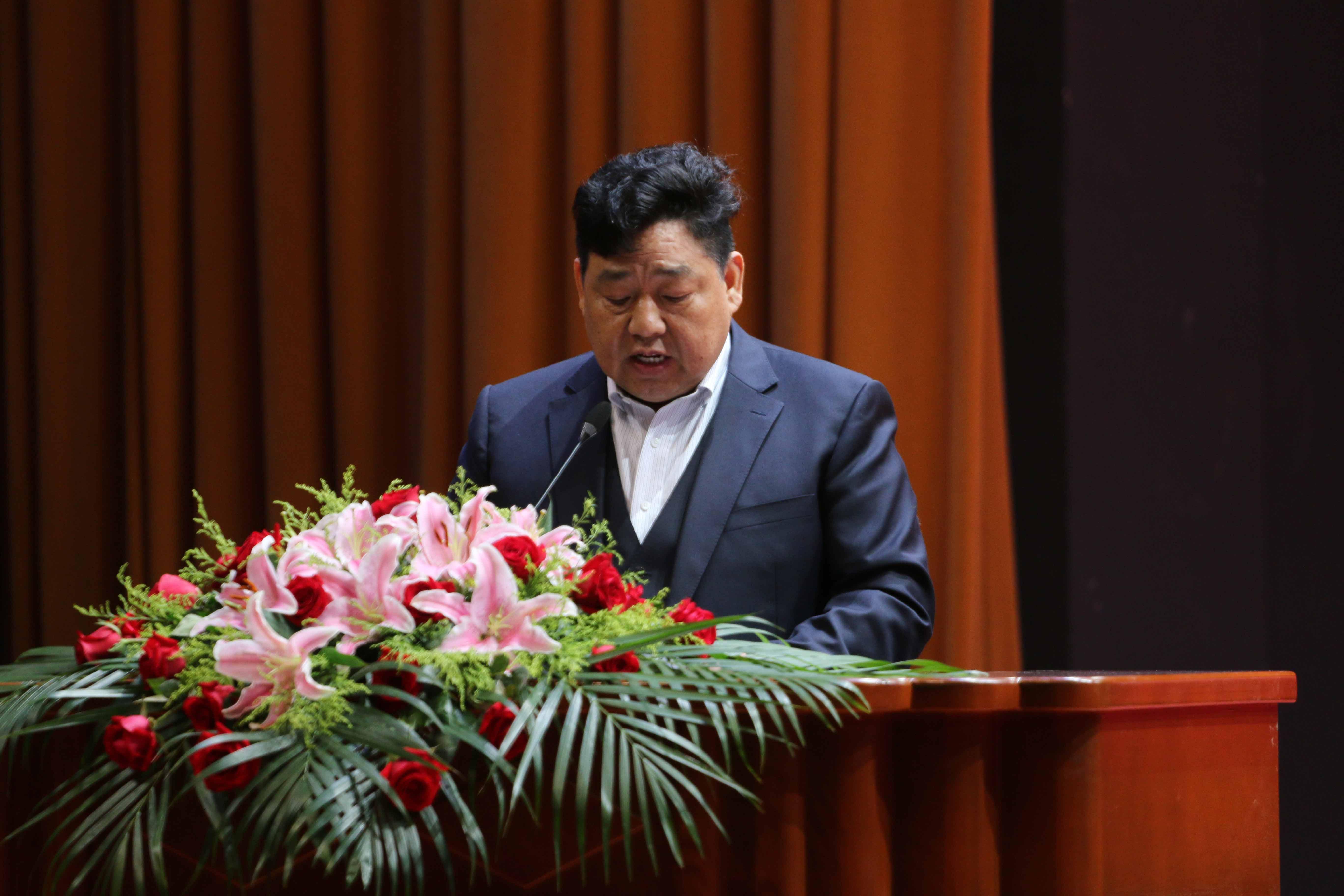 丹阳飞达重工有限公司总经理戴新元发言