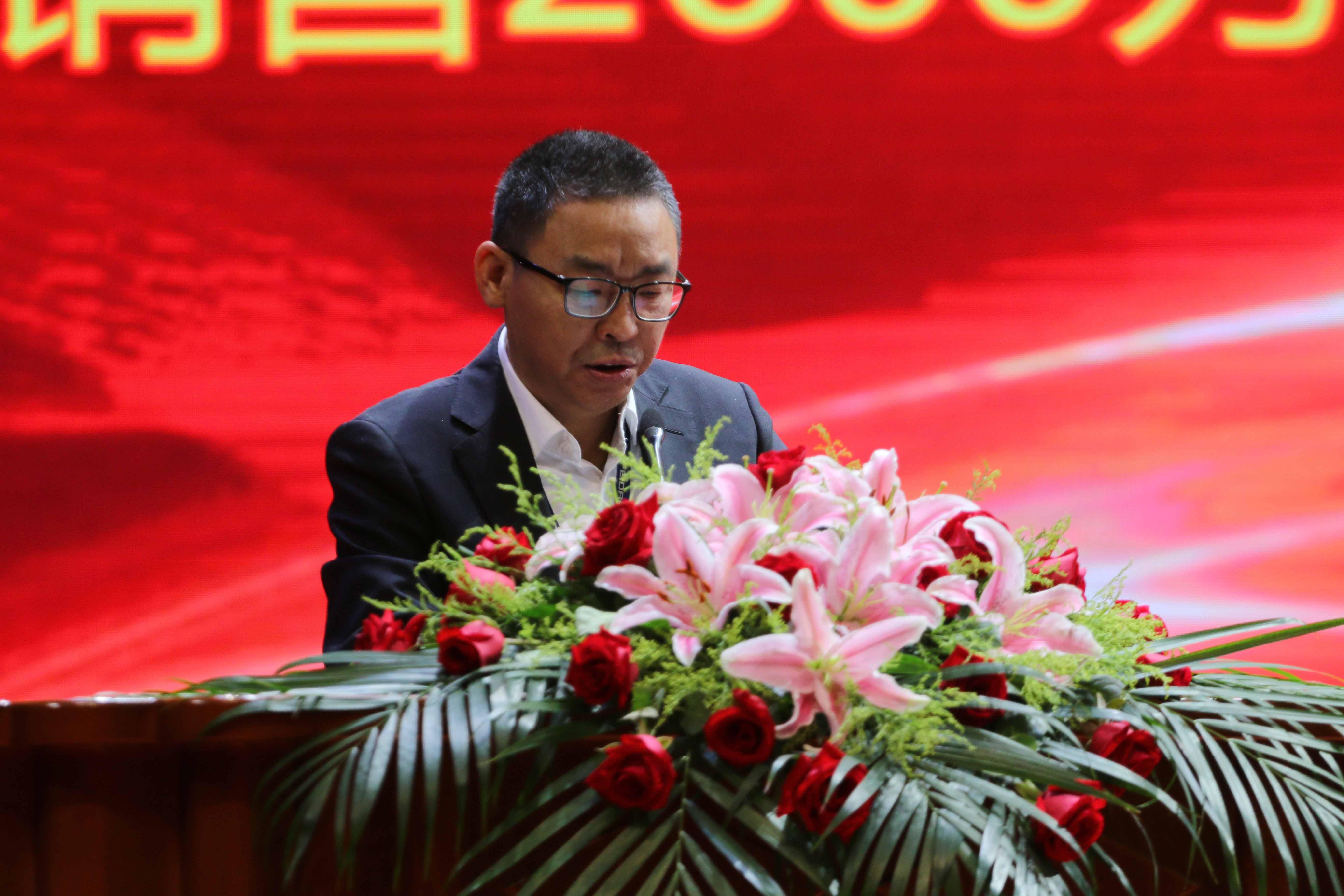 江苏飞达钻头股份有限公司总经理郭和平发言
