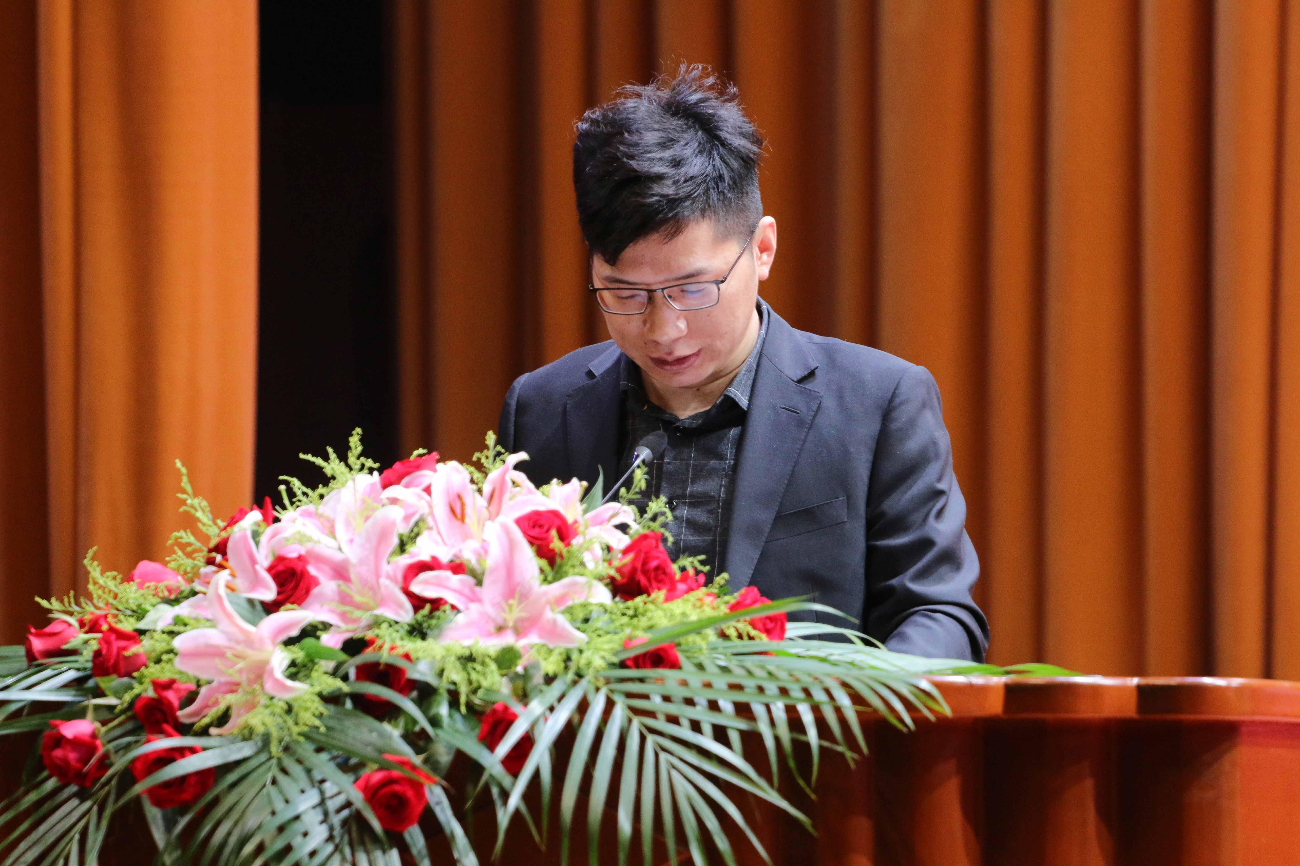 丹阳市飞达金属贸易有限公司总经理朱立发言